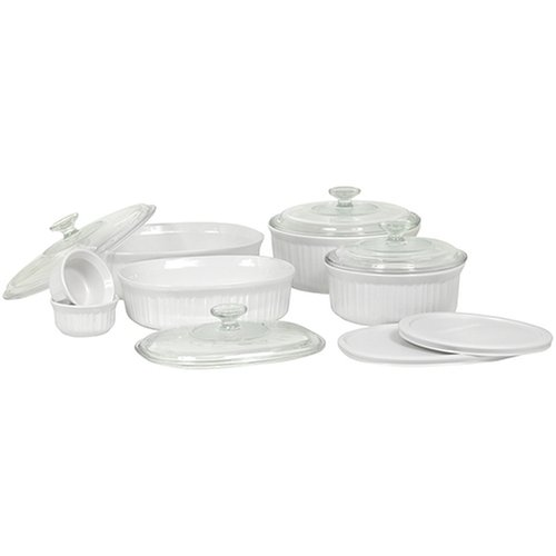 Corningware French White Baking Set